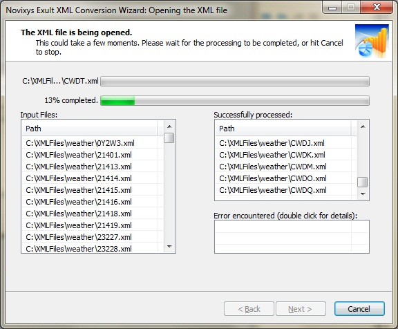 How to merge XML files