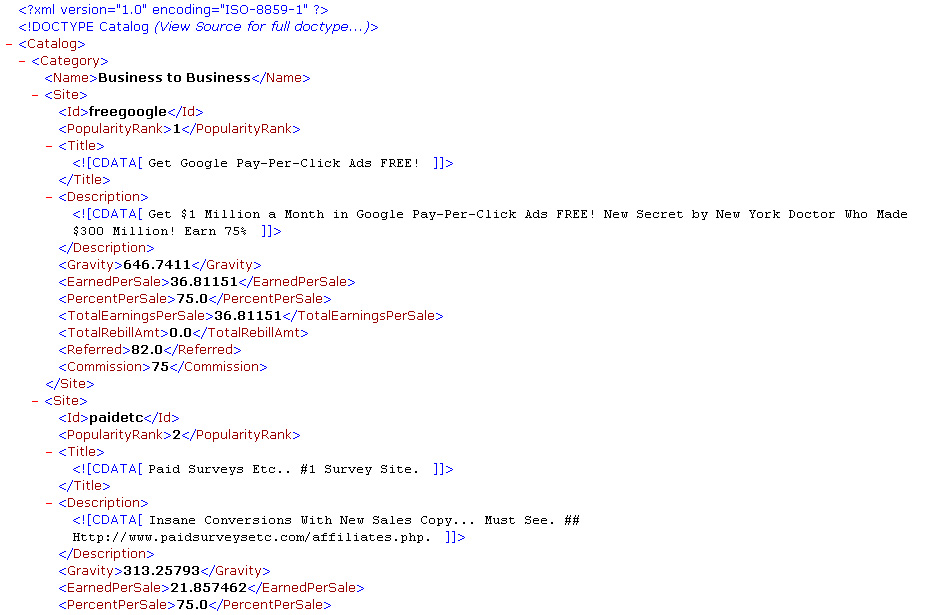 Import XML into Oracle